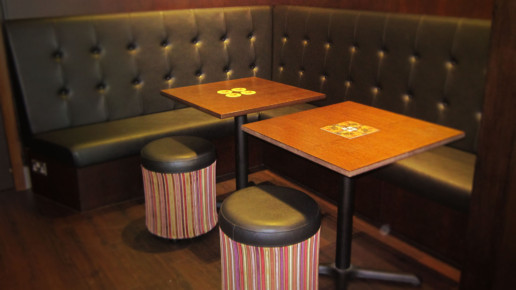 Suda Thai Cuisine Carleton Poulton seating area